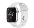 Apple Watch Series 5 GPS 44mm Silver Aluminum Case...