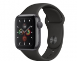 Apple Watch Series 5 GPS 44mm Space Gray Aluminum Case with ...