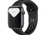 Apple Watch Nike Series 5 GPS 44mm Space Gray Aluminum Case ...
