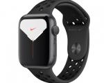Apple Watch Nike Series 5 GPS 44mm Space Gray Aluminum Case ...