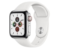 Apple Watch Series 5 GPS + LTE 40mm Stainless Stee...