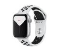 Apple Watch Series 5 GPS 44mm Silver Aluminum Case...