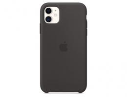 Чехол Apple Silicone Case Black для iPhone 11 (MWVU2)