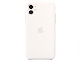 Чехол Apple Silicone Case White для iPhone 11 (MWVX2)