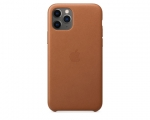 Чехол Apple Leather Case Saddle Brown для iPhone 11 Pro (MWY...