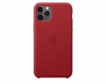 Чехол Apple Leather Case (PRODUCT)RED для iPhone 11 Pro (MWY...