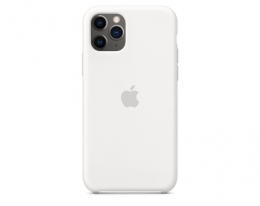 Чехол Apple Silicone Case White для iPhone 11 Pro (MWYL2)