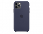 Чехол Apple Silicone Case Midnight Blue для iPhone 11 Pro (M...