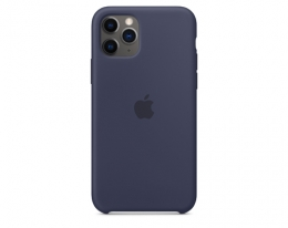 Чехол Apple Silicone Case Midnight Blue для iPhone 11 Pro (MWYJ2)
