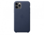Чехол Apple Leather Case Midnight Blue для iPhone 11 Pro Max...