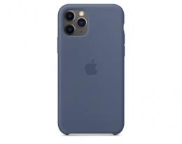 Чехол Apple Silicone Case Alaskan Blue для iPhone 11 Pro Max (MX032)