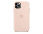 Чехол Apple Silicone Case Pink Sand для iPhone 11 Pro Max (M...