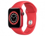 Apple Watch Series 6 GPS 44mm (PRODUCT)RED Aluminum Case (PR...