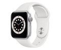 Apple Watch Series 6 GPS 40mm Silver Aluminum Case...