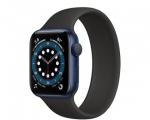 Apple Watch Series 6 GPS 40mm Blue Aluminium Case + Black So...