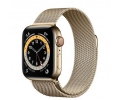 Apple Watch Series 6 GPS + Cellular 40mm Gold Stai...