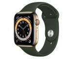Apple Watch Series 6 GPS + Cellular 40mm Gold Stainless Stee...