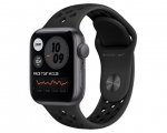 Apple Watch Nike SE GPS 44mm Space Gray Aluminum Case Anthra...