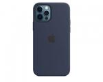 Чехол Apple Silicone Case Deep Navy для iPhone 12 Pro Max wi...
