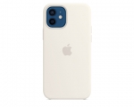 Чехол Apple Silicone Case White для iPhone 12 mini with MagS...