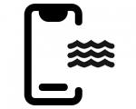 Чистка после попадания влаги iPhone 8