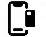 Замена стекла на корпусе iPhone 8