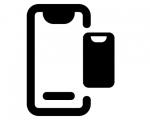 Замена стекла iPhone X с заменой сенсора