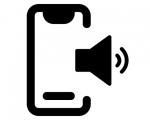 Замена голосового динамика iPhone X