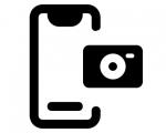Замена основной камеры iPhone XR
