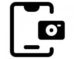 Замена основной камеры iPad 6