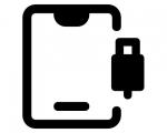 Замена нижнего системного шлейфа iPad mini 3