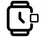 Замена стекла Apple Watch Series 2 без сенсора