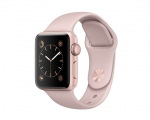 Apple Watch 38mm Series 1 Rose Gold Aluminum Case with Pink ...
