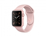 Apple Watch 42mm Series 1 Rose Gold Aluminium case with Pink...