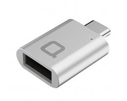 Адаптер nonda USB-C to USB 3.0 Mini Adapter Silver