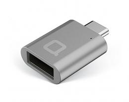 Адаптер nonda USB-C to USB 3.0 Mini Adapter Space Gray