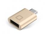 Адаптер nonda USB-C to USB 3.0 Mini Adapter Gold