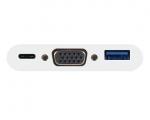 Адаптер Macally USB-C Port to VGA/USB/USB-C