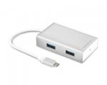 Переходник Macally USB-C Hub 4xUSB 3.0 (UC3HUB)