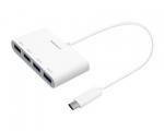 Переходник Macally USB-C – 4 Port USB-A Hub (UCHUB4)
