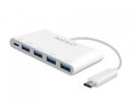 Переходник Macally USB-C – 4 x USB-A 3.0 + USB-C (UC3HUB4C)