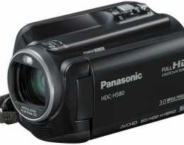 Видеокамера PANASONIC HDC-HS80 Black
