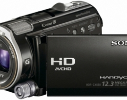 Видеокамера SONY HDR-CX560E Black