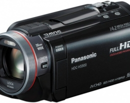 Видеокамера Panasonic HDC-HS900 Black