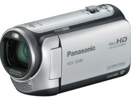 Видеокамера Panasonic HDC-SD80 Silver