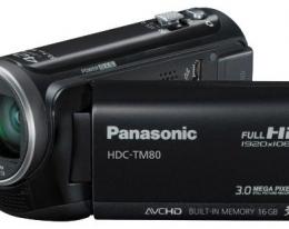 Видеокамера Panasonic HDC-TM80 EE-K