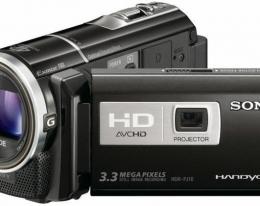 Видеокамера SONY HDR-PJ10E black