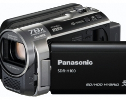 Видеокамера Panasonic SDR-H100 Black