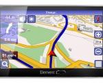 GPS-навигатор Element X7