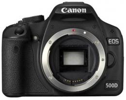 Фотоаппарат зеркальный CANON EOS 500D Body